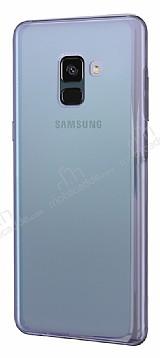 Eiroo Reflection Samsung Galaxy A8 Plus 2018 Tam Kenar Koruma Yeşil Rubber Kılıf