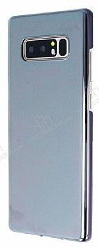 Eiroo Reflection Samsung Galaxy Note 8 Tam Kenar Koruma Siyah Rubber Kılıf