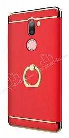 Eiroo Ring Fit Xiaomi Mi 5s Plus Selfie Yüzüklü Kırmızı Rubber Kılıf