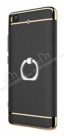Eiroo Ring Fit Xiaomi Mi 5s Selfie Yüzüklü Siyah Rubber Kılıf