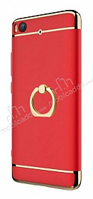 Eiroo Ring Fit Xiaomi Mi 5s Selfie Yüzüklü Kırmızı Rubber Kılıf
