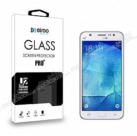 Eiroo Samsung Galaxy J5 Tempered Glass Cam Ekran Koruyucu