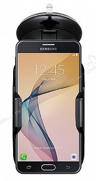 Eiroo Samsung Galaxy J7 Prime Siyah Araç Tutucu
