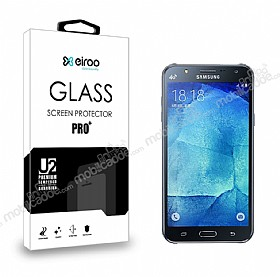 Eiroo Samsung Galaxy J7 / Galaxy J7 Core Tempered Glass Cam Ekran Koruyucu