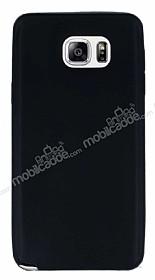 Samsung Galaxy Note 5 Ultra İnce Siyah Silikon Kılıf