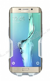 Eiroo Samsung Galaxy S6 Edge Plus Gri Araç Tutucu
