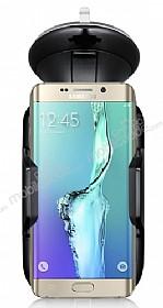Eiroo Samsung Galaxy S6 Edge Plus Siyah Araç Tutucu