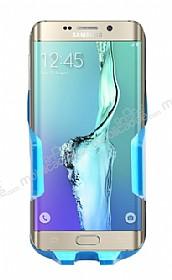 Eiroo Samsung Galaxy S6 Edge Plus Mavi Araç Tutucu