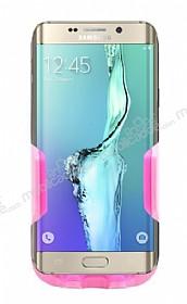 Eiroo Samsung Galaxy S6 Edge Plus Pembe Araç Tutucu