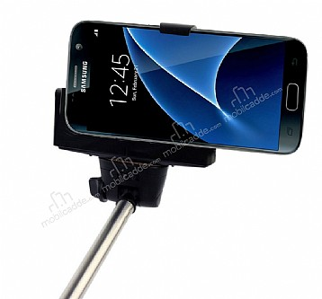 Eiroo Samsung Galaxy S7 Bluetooth Tuşlu Selfie Çubuğu