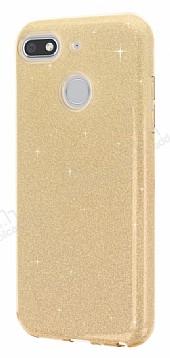 Eiroo Silvery General Mobile GM 8 GO Simli Gold Silikon Kılıf