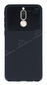 Eiroo Simplified Huawei Mate 10 Lite Siyah Silikon Kılıf