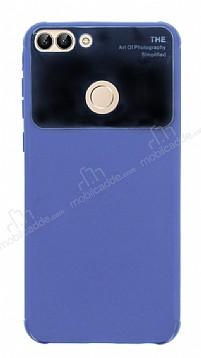 Eiroo Simplified Huawei P Smart Lacivert Silikon Kılıf