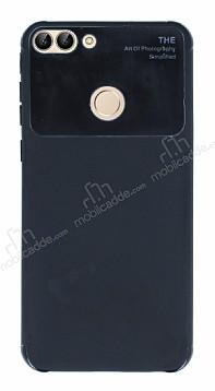 Eiroo Simplified Huawei P Smart Siyah Silikon Kılıf