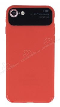Eiroo Simplified iPhone 7 / 8 Kırmızı Silikon Kılıf