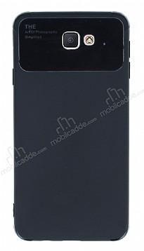 Eiroo Simplified Samsung Galaxy J7 Prime / J7 Prime 2 Siyah Silikon Kılıf