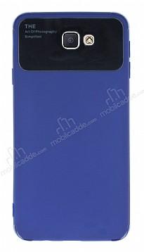 Eiroo Simplified Samsung Galaxy J7 Prime / J7 Prime 2 Lacivert Silikon Kılıf