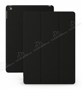 Eiroo Smart iPad Mini / Mini 2 / Mini 3 Kapaklı Siyah Deri Kılıf