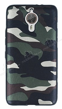 Eiroo Soldier General Mobile GM 5 Plus Yeşil Silikon Kılıf