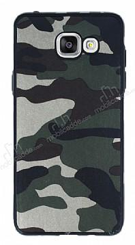 Eiroo Soldier Samsung Galaxy A5 2016 Yeşil Silikon Kılıf