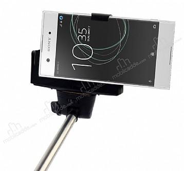 Eiroo Sony Xperia XA1 Bluetooth Tuşlu Selfie Çubuğu
