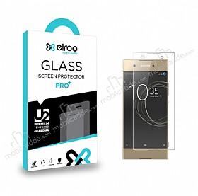 Eiroo Sony Xperia XA1 Ultra Curve Tempered Glass Full Şeffaf Cam Ekran Koruyucu
