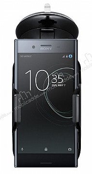 Eiroo Sony Xperia XZ Premium Siyah Araç Tutucu