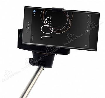 Eiroo Sony Xperia XZs Bluetooth Tuşlu Selfie Çubuğu