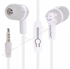 Eiroo Tin Box Mikrofonlu Kulakiçi Beyaz Kulaklık