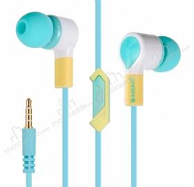 Eiroo Tooth Paste Mikrofonlu Kulakiçi Mavi Kulaklık