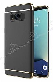 Eiroo Trio Fit Samsung Galaxy S8 Plus 3ü 1 Arada Siyah Rubber Kılıf