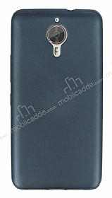 Eiroo Ultra Thin General Mobile GM 5 Plus Dark Silver Silikon K�l�f