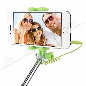 Eiroo Universal Yeşil Selfie Çubuğu