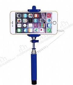 Eiroo Universal Lacivert Selfie Çubuğu