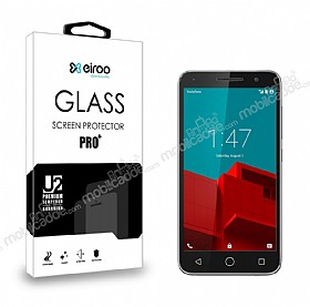 Eiroo Vodafone Smart 6 Prime Tempered Glass Cam Ekran Koruyucu