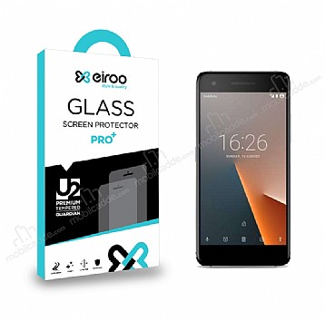 Eiroo Vodafone Smart V8 Tempered Glass Cam Ekran Koruyucu