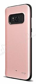 Elago Hybrid Samsung Galaxy S8 Metalik Rose Gold Kılıf