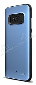 Elago Hybrid Samsung Galaxy S8 Metalik Mavi Kılıf