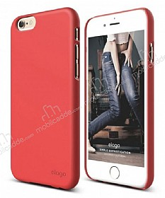 Elago S6 Slim Fit 2 iPhone 6 / 6S Italian Rose Rubber Kılıf