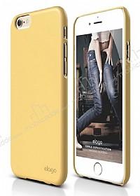 Elago S6 Slim Fit 2 iPhone 6 Plus / 6S Plus Sarı Rubber Kılıf