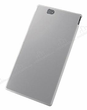 Elecom Sony Xperia Z Ultra Buzlu Beyaz Silikon Kılıf