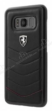 Ferrari Samsung Galaxy S8 Gerçek Deri Rubber Kılıf