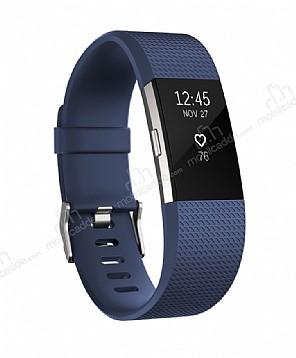Fitbit Charge 2 Akıllı Bileklik Blue Silver Large FB407SBUL-EU