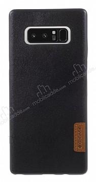 G-Case Dark Series Samsung Galaxy Note 8 Deri Siyah Rubber Kılıf