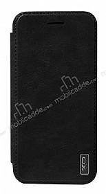 XO Samsung Galaxy S8 Cüzdanlı İnce Yan Kapaklı Siyah Deri Kılıf