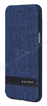 G-Case Samsung Galaxy S8 Plus Cüzdanlı Kapaklı Lacivert Kılıf
