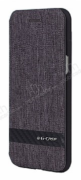 G-Case Samsung Galaxy S8 Cüzdanlı Kapaklı Siyah Kılıf