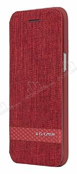 G-Case Samsung Galaxy S8 Cüzdanlı Kapaklı Kırmızı Kılıf