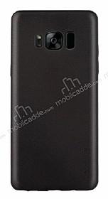 G-Case Samsung Galaxy S8 Plus Deri Görünümlü Siyah Rubber Kılıf