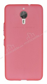 General Mobile GM 5 Plus Metal Tuşlu Mat Pembe Silikon Kılıf